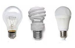Виды и отличия электрических ламп