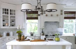 Как выбрать люстру на кухню