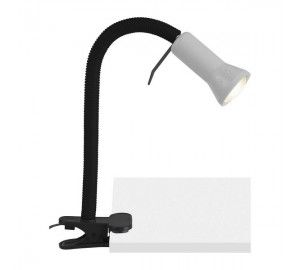 Офисная настольная лампа на прищепке с выключателем Flex 24705/11