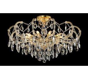 Люстра Crystal Lux HOLLYWOOD SP-PL10 GOLD D1000