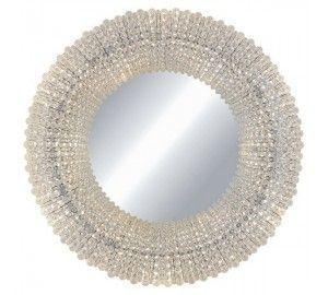 Зеркало с подсветкой хрустальное Crystal L27826.32