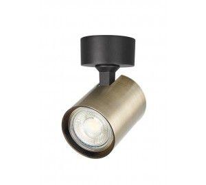 Светильник потолочный Crystal Lux CLT 017CW1R BL-BZ