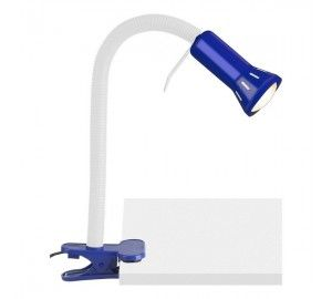 Офисная настольная лампа на прищепке с выключателем Flex 24705/37