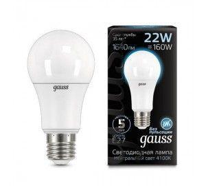Лампочка LED A70 22W E27 4100K 1/10/50 102502222
