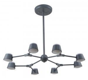 Люстра Crystal Lux MADRID SP8 GRAY