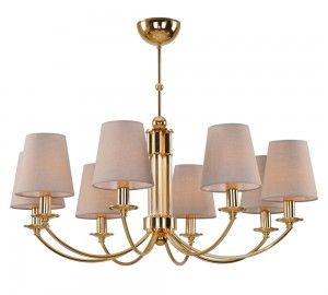 Люстра Crystal Lux CAMILA SP8 GOLD