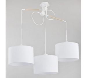 Белый подвесной светильник Hila 24023
