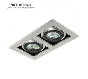 Светильник RAUMBERG 107421 Aluminium/Black