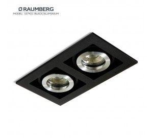 Светильник RAUMBERG 107421 Black/Aluminium