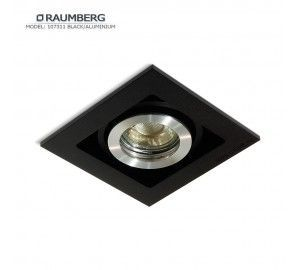 Светильник RAUMBERG 107311 Black/Aluminium