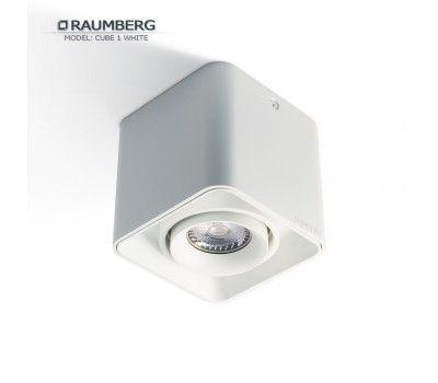 Светильник RAUMBERG CUBE 1 White