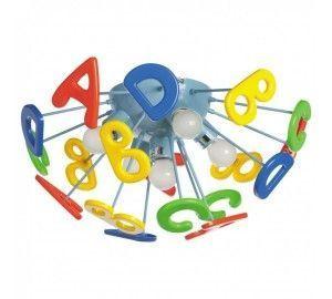Детский потолочный светильник с буквами Улыбка 365013705