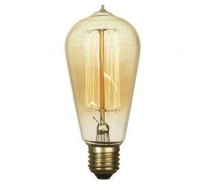Лампочка накаливания груша E27 60W 2400-2800K GF-E-764
