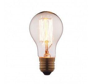 Ретро лампочка накаливания Эдисона груша E27 40W 2400-2800K 1003-T