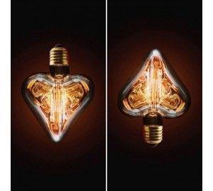 Ретро лампочка накаливания Эдисона 2740-H