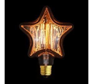 Ретро лампочка накаливания Эдисона 2740-S